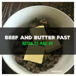 Keto Beef and Butter Fast Experiment