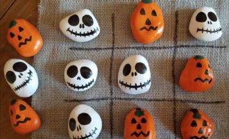 Halloween Tic Tac Toe Set Craft Idea