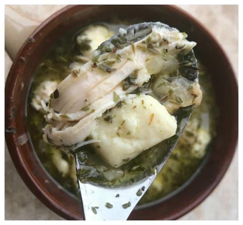 Keto Chicken and Dumplings Recipe