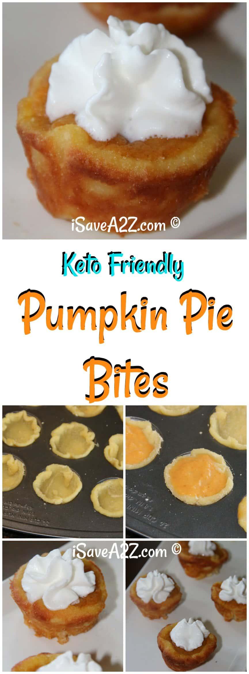 Keto Mini Pumpkin Pie Bites