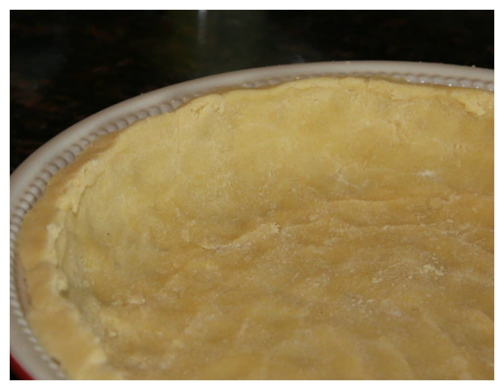 how to make pie crust with flour