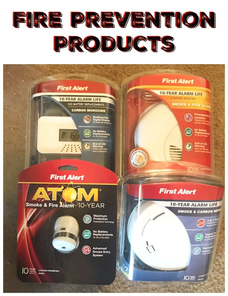 Fire Prevention Products from First Alert