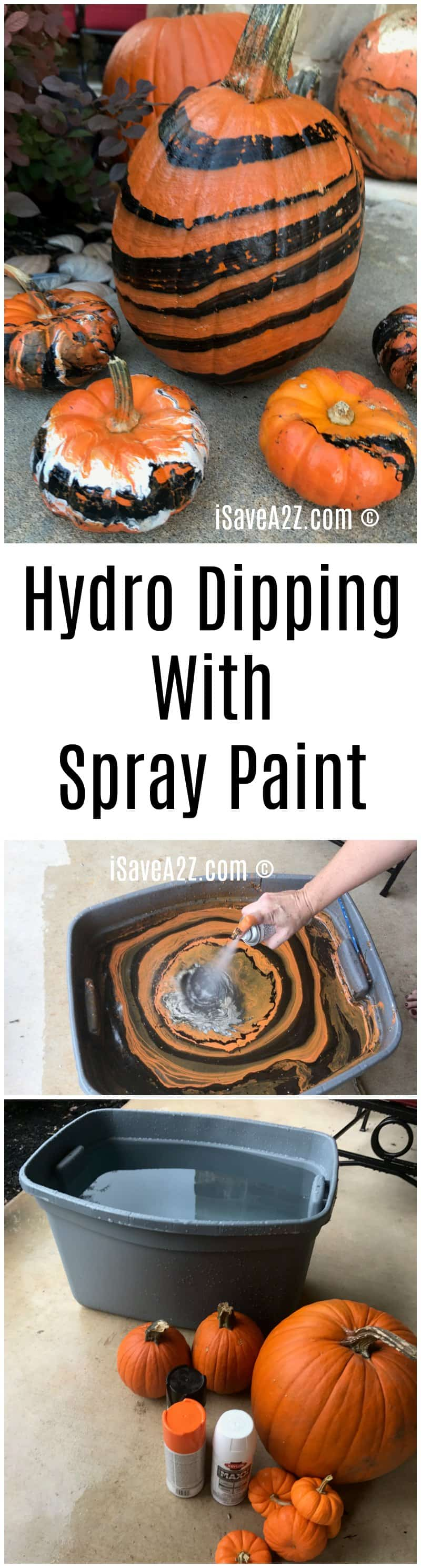 Hydro Dipping With Spray Paint
