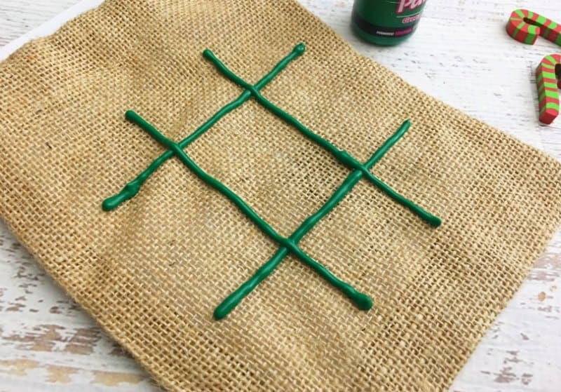 Christmas Tic Tac Toe Stocking Stuffer Craft Idea