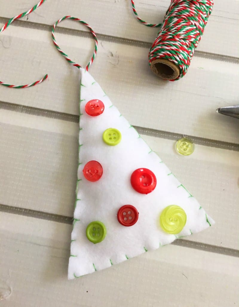 Felt Tree Ornament Craft