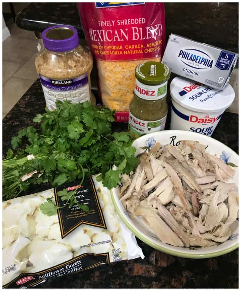 Low Carb Salsa Verde Chicken Casserole Recipe