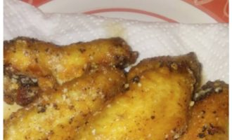 Simple Parmesan Garlic Chicken Wings Recipe