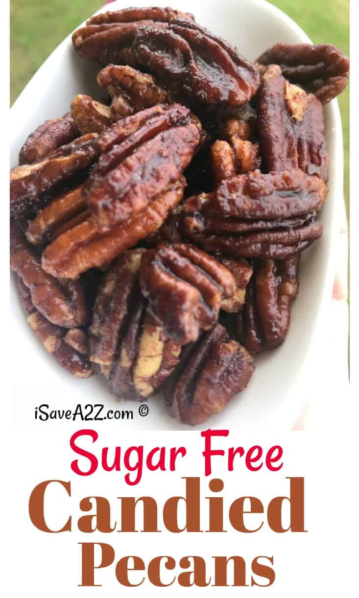 Sugar-Free Candied Pecans Recipe