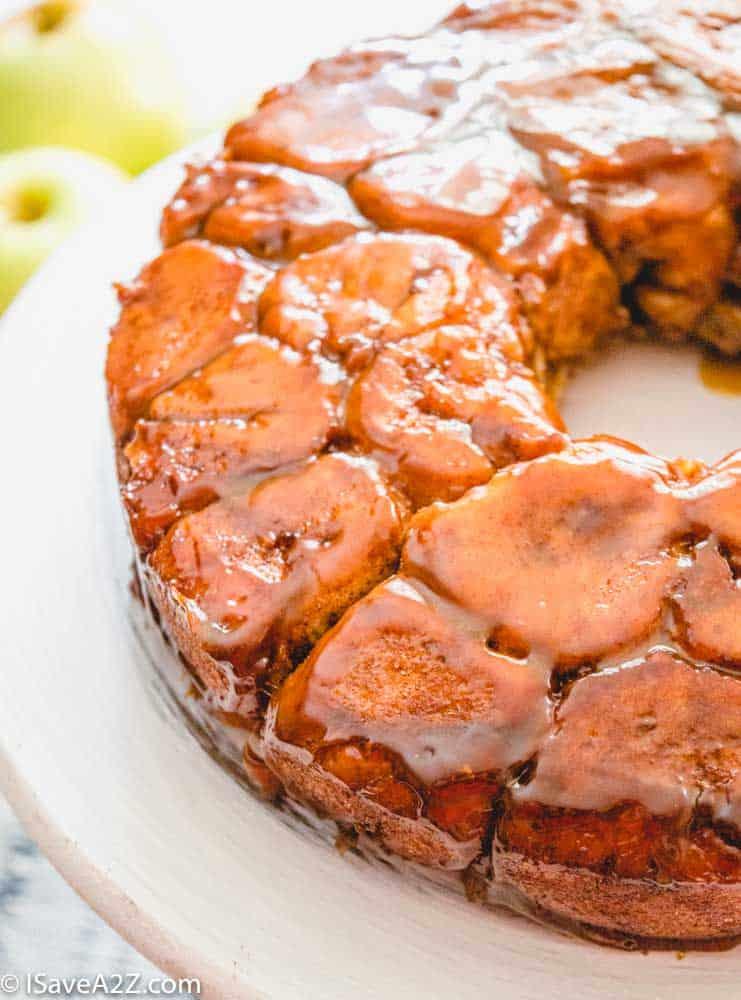 Caramel Apple Monkey Bread Recipe