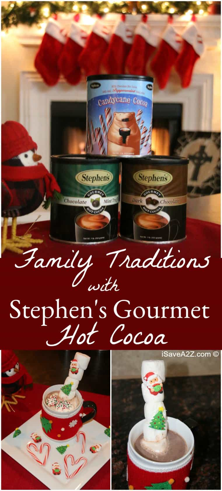 Family Traditions:  Christmas Trees, Cooler Weather and Hot Cocoa!