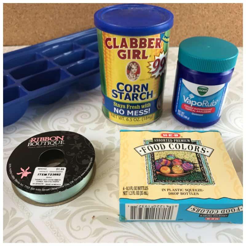 Homemade Shower Melts Recipe Using Vapor Rub