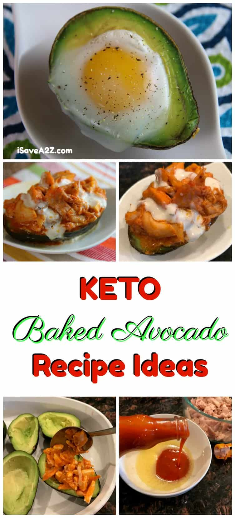 Keto Baked Avocado Recipe Ideas