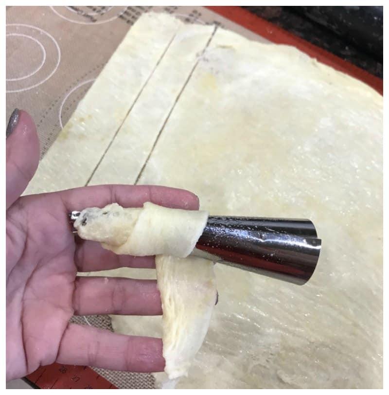 Keto Cream Horns Recipe
