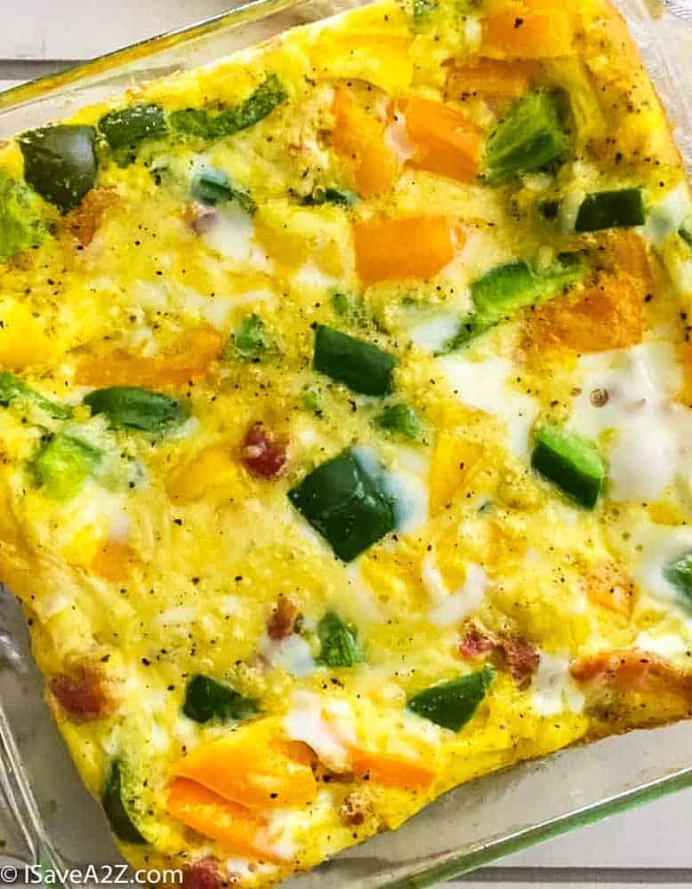 Super Easy Egg Casserole Recipe