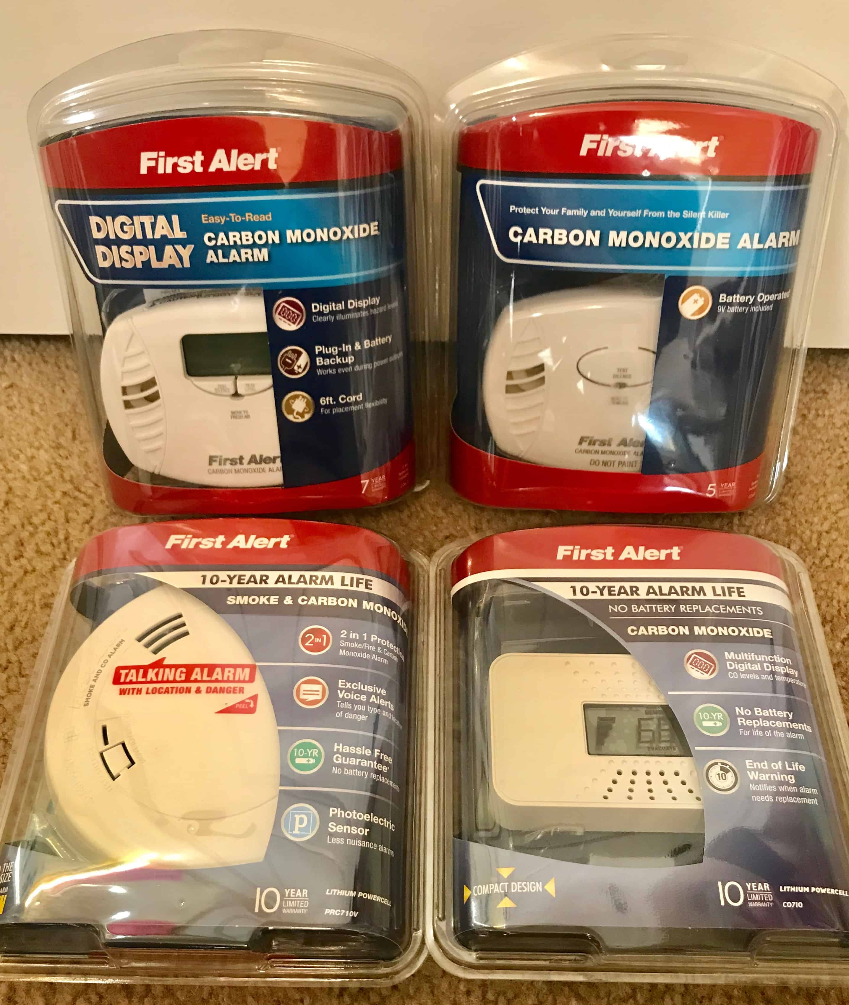 6 Signs of Carbon Monoxide Poisoning (with a giveaway)