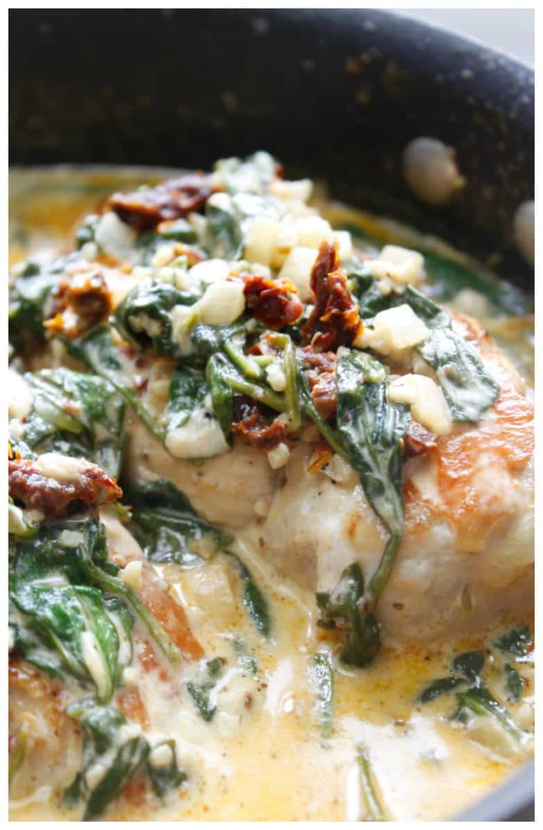 Low Carb Creamy Tuscan Chicken Recipe Isavea2z Com