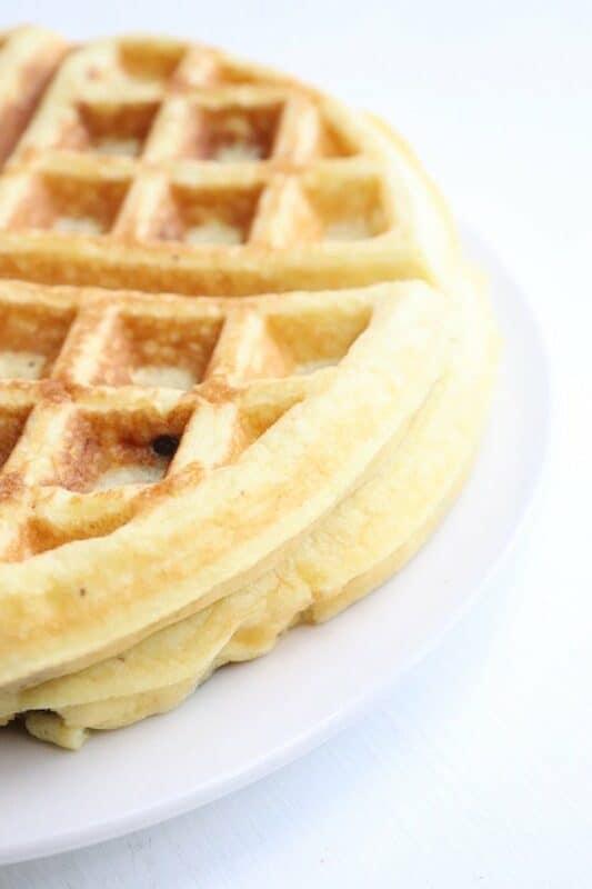 Keto Fluffy Waffles Recipe