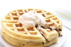 Keto Fluffy Waffles Recipe