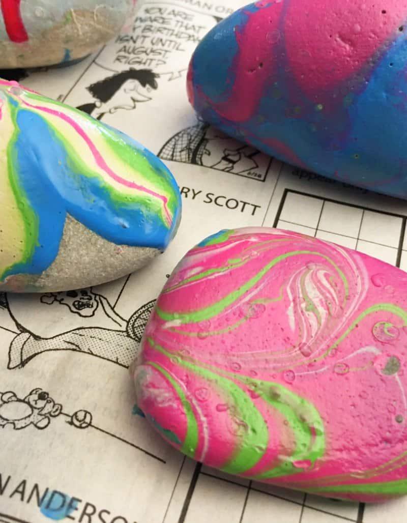 Cute Painted Rocks Idea