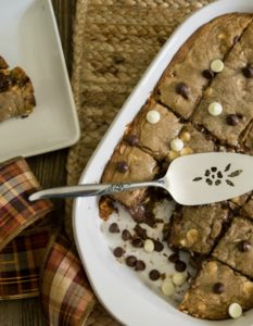 Double Chocolate Chip Cookies Bar Recipe