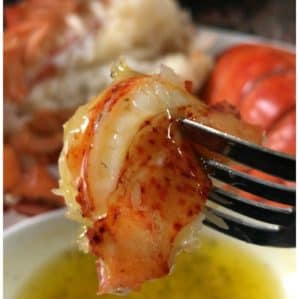 Lobster Tails with Butter Sauce