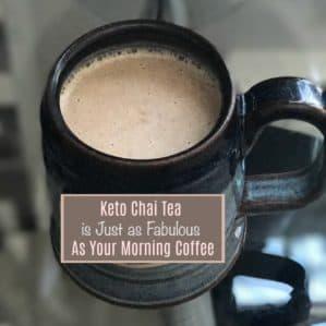 Alternative to Keto Coffee (Keto Chai Latte Recipe)