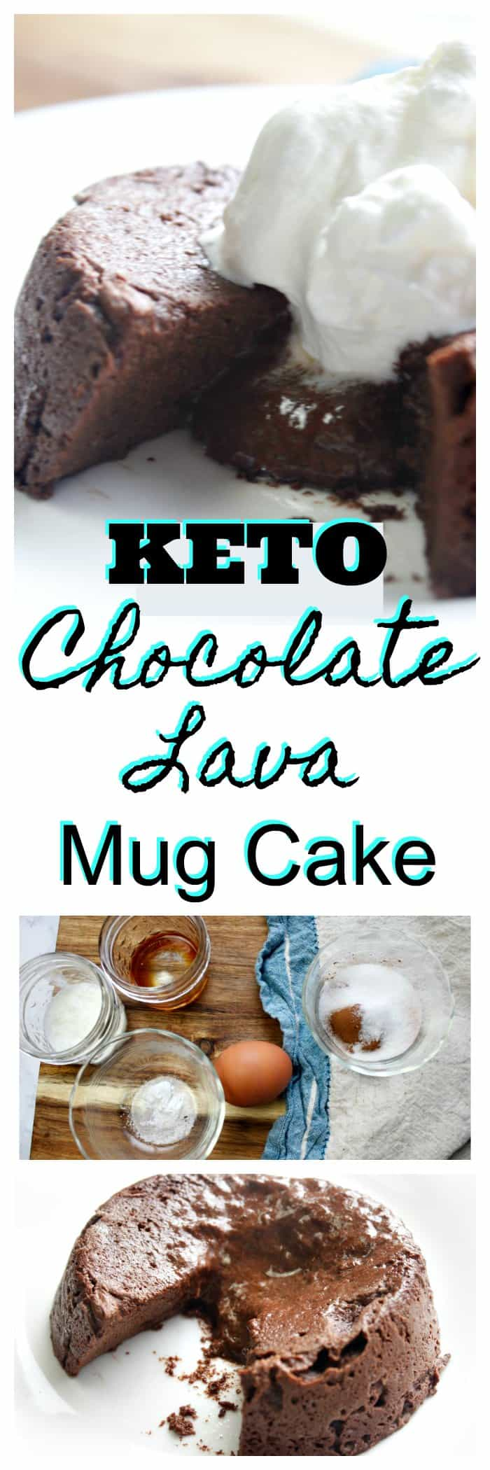 Keto Chocolate Lava Mug Cake Recipe
