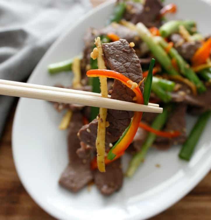 Keto Mongolian Beef Stir Fry Recipe