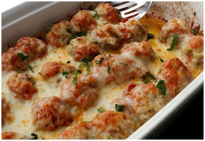 Low Carb Meatball Casserole Recipe