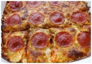 Easy Keto Pizza Casserole Recipe