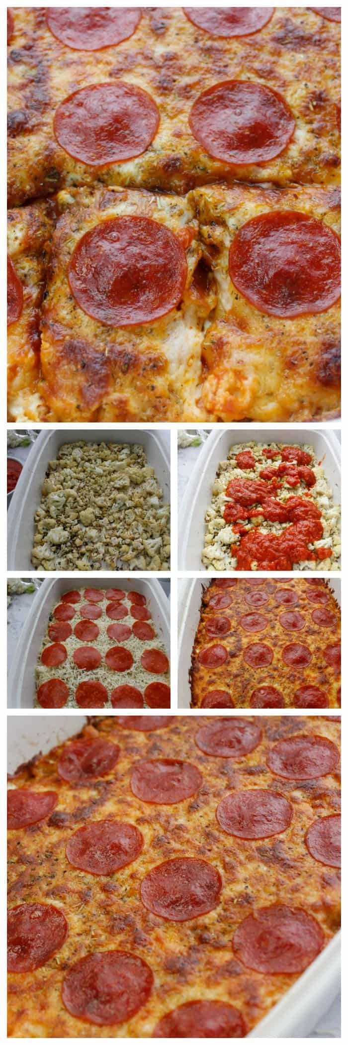 Easy Keto Pizza Casserole Recipe
