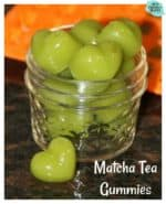 Matcha Tea Gummies Recipe