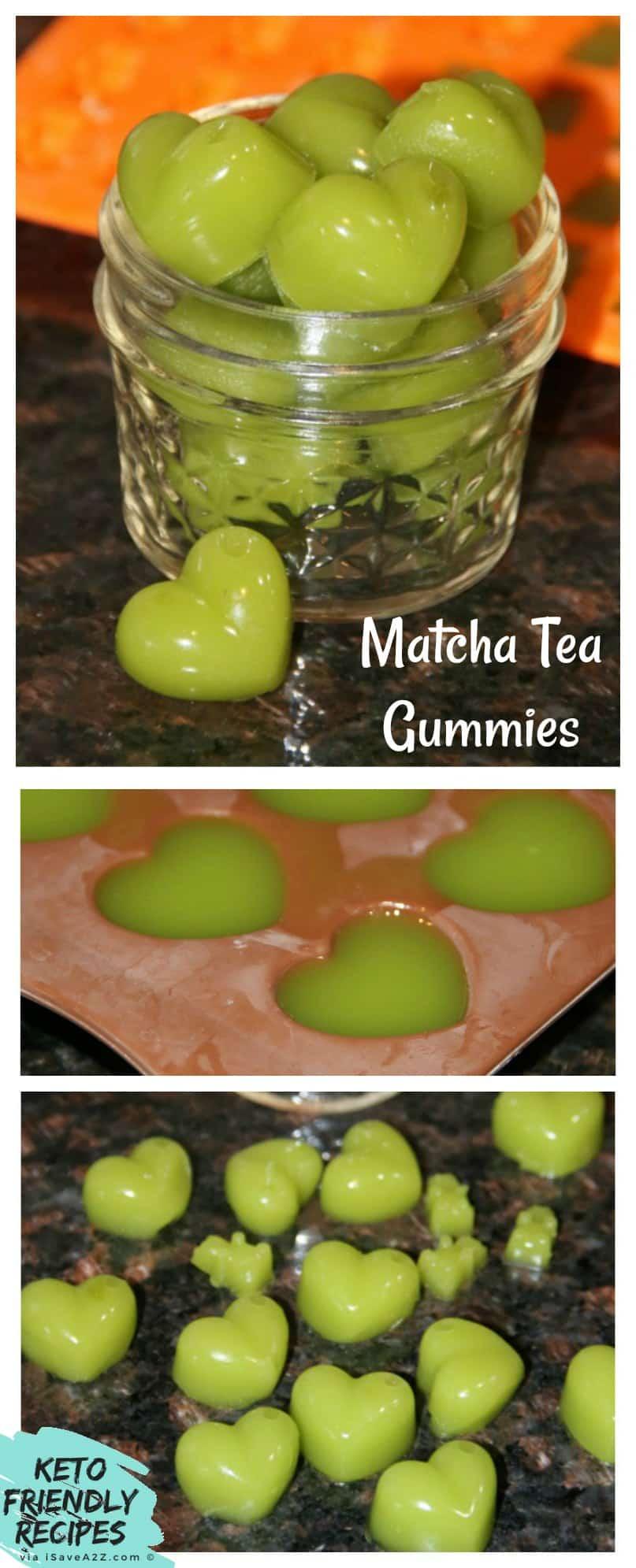 Matcha Tea Gummies Recipe