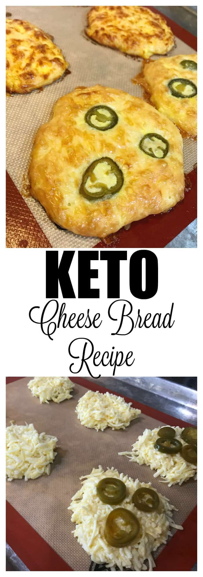 Quick Keto Jalapeno Cheese Bread Recipe