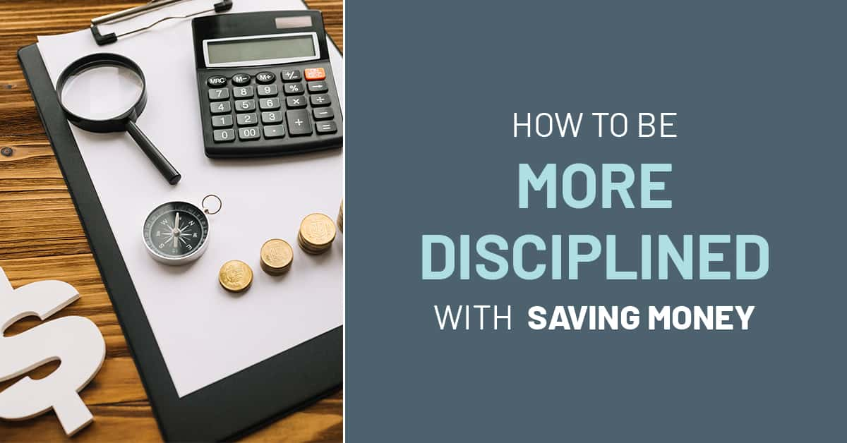 Saving money is tricky for a number of reasons, but one of the biggest reasons people have trouble. Learn how to be more disciplined with saving money with these tips!
