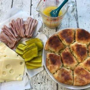 Keto Cuban Slider Sandwich Recipe ingredients