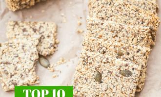 Top 10 Crunchy Keto Snacks!