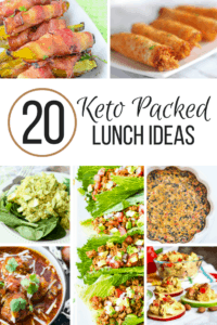 20 Keto Packed Lunch Ideas