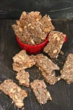 BEST Crunchy Keto Crackers Recipe