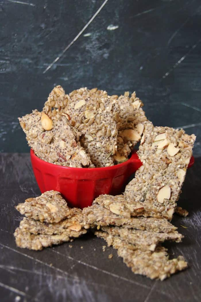 Crunchy Keto Crackers Recipe