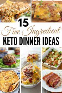 5 Ingredient Keto Dinner Ideas