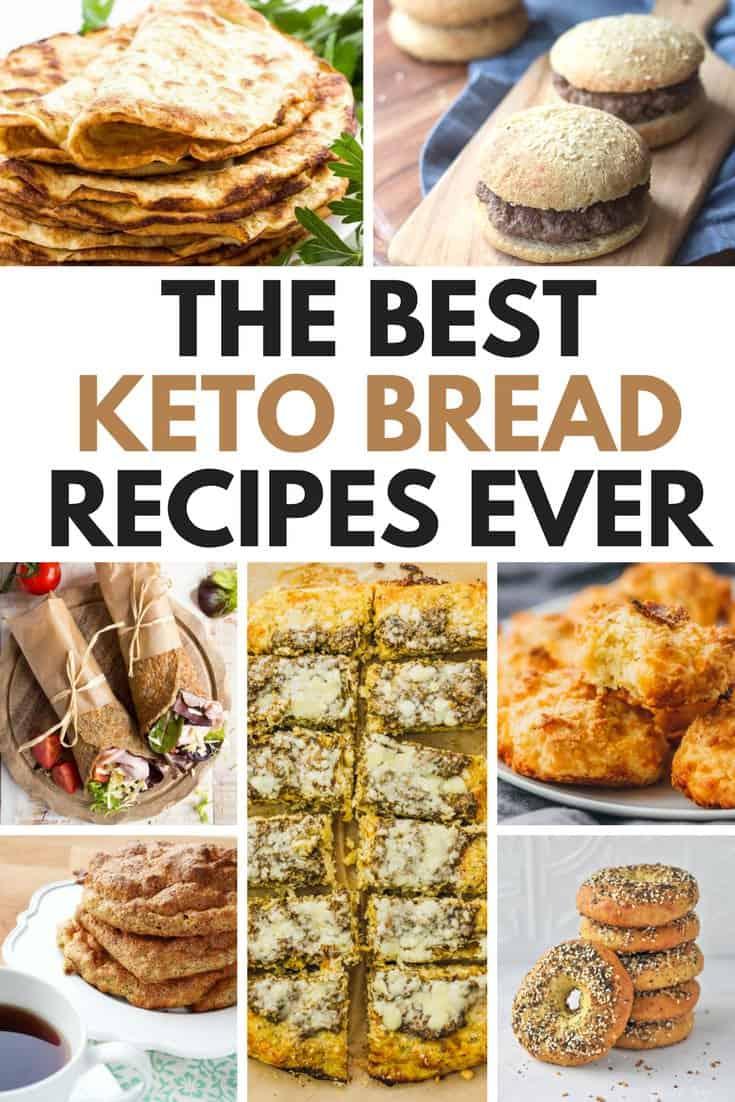 The Best Keto Bread Recipes Ever 1200x630