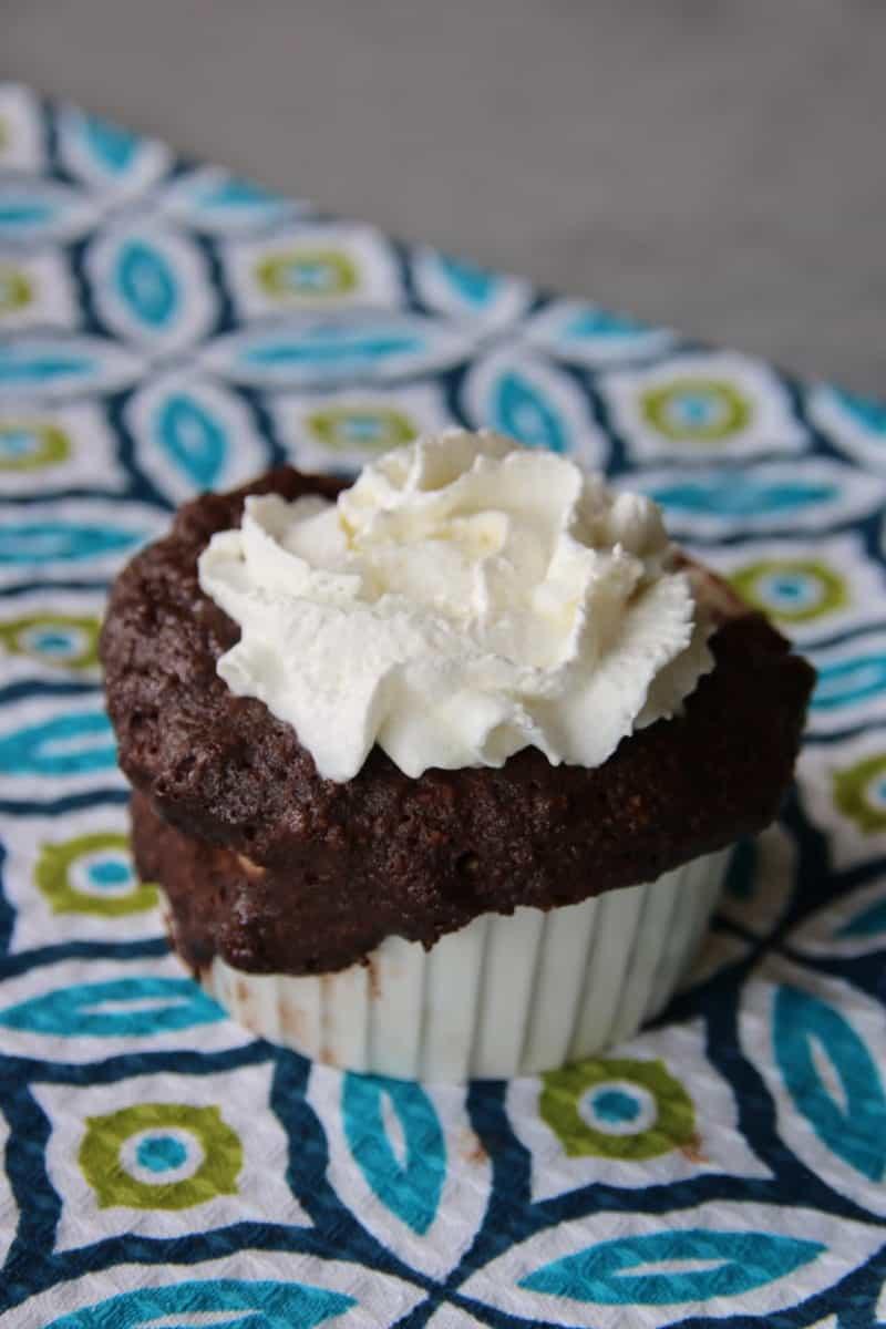 1 Minute Keto Brownie in a Mug Recipe