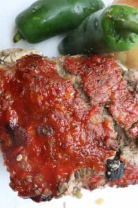 Jalapeno Popper Stuffed Meatloaf Recipe