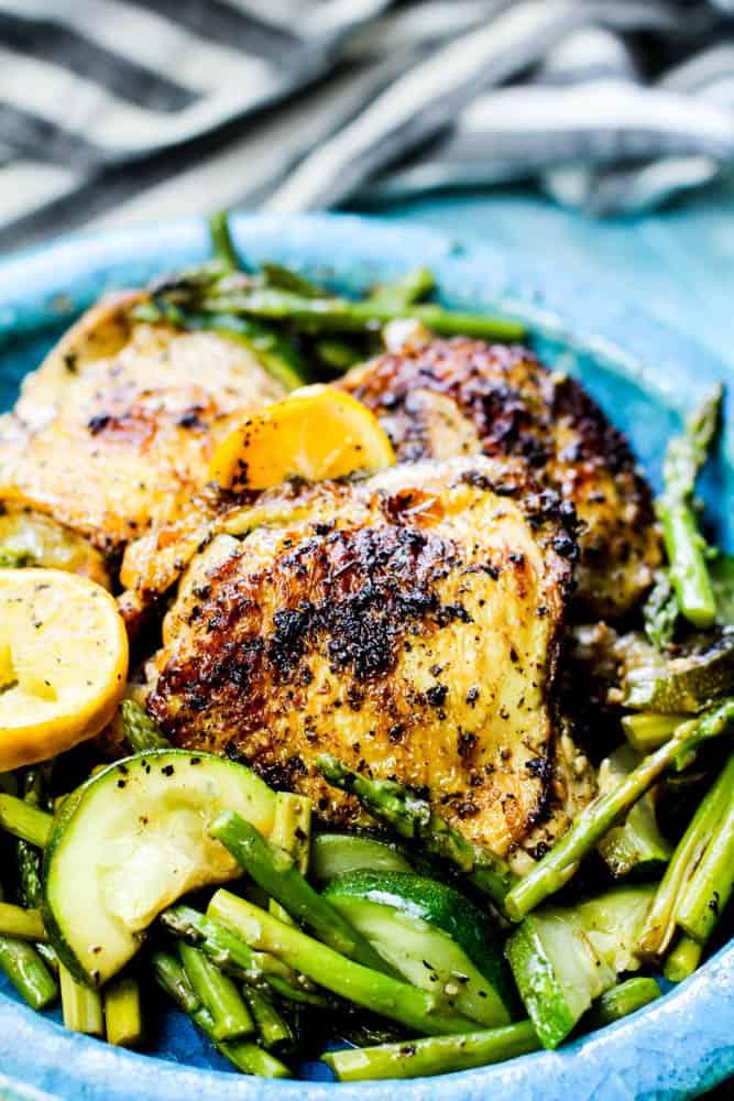 Keto Lemon Garlic Chicken Recipe