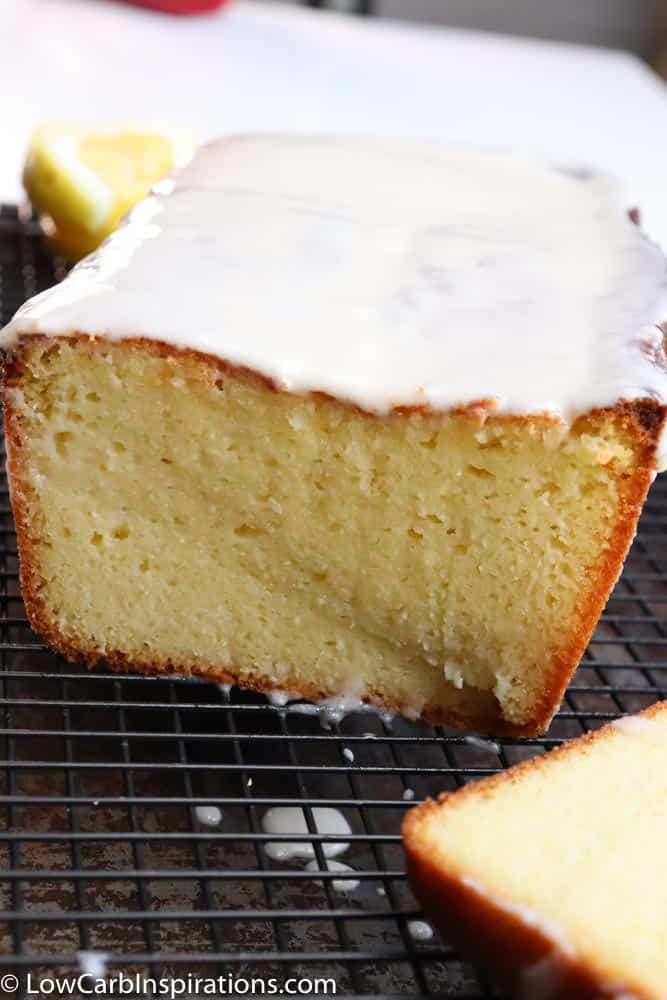 Low Carb Lemon Pound Cake Keto Friendly Recipe