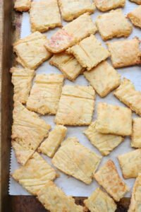 Low Carb Cheese Crackers Recipe