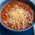 Quick Keto Chili Recipe Made in the Pressure Cooker