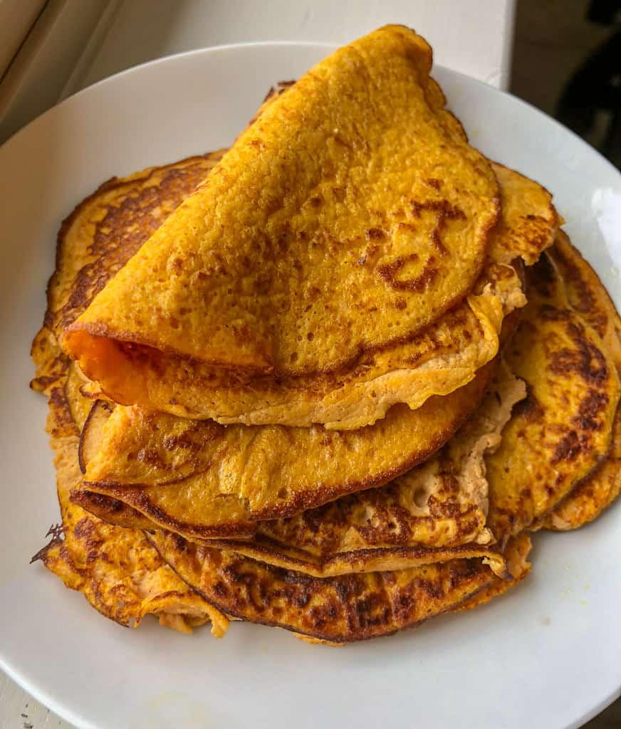 Easy Pumpkin Keto Crepes Recipe