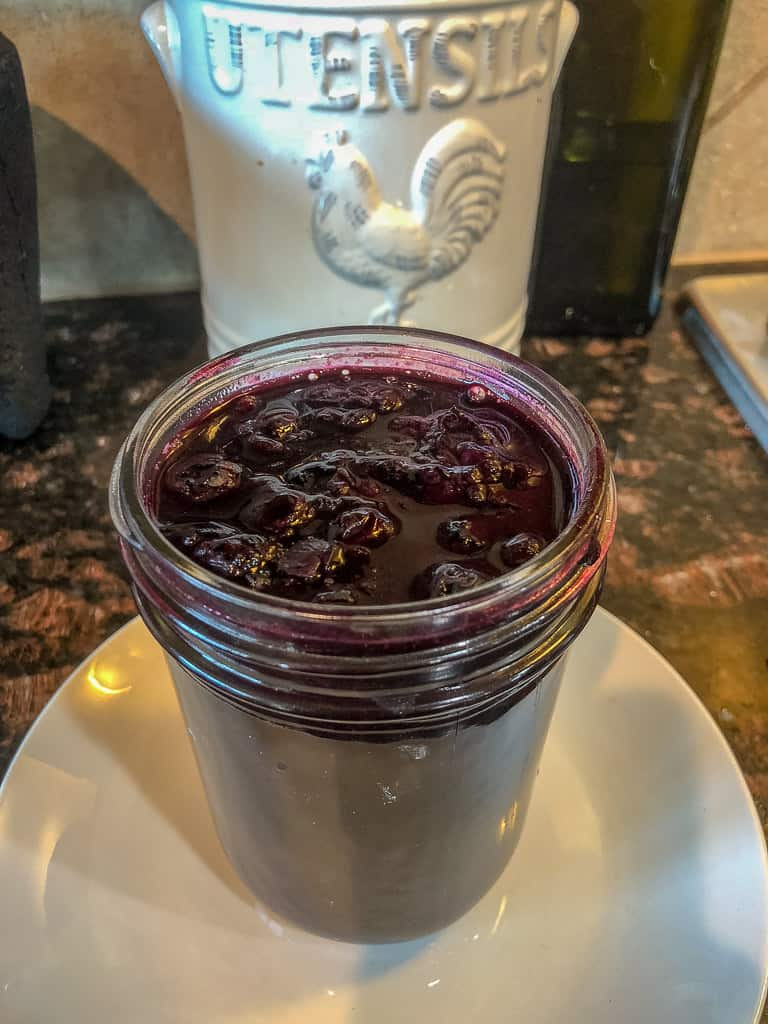 Keto Blueberry Sauce Recipe